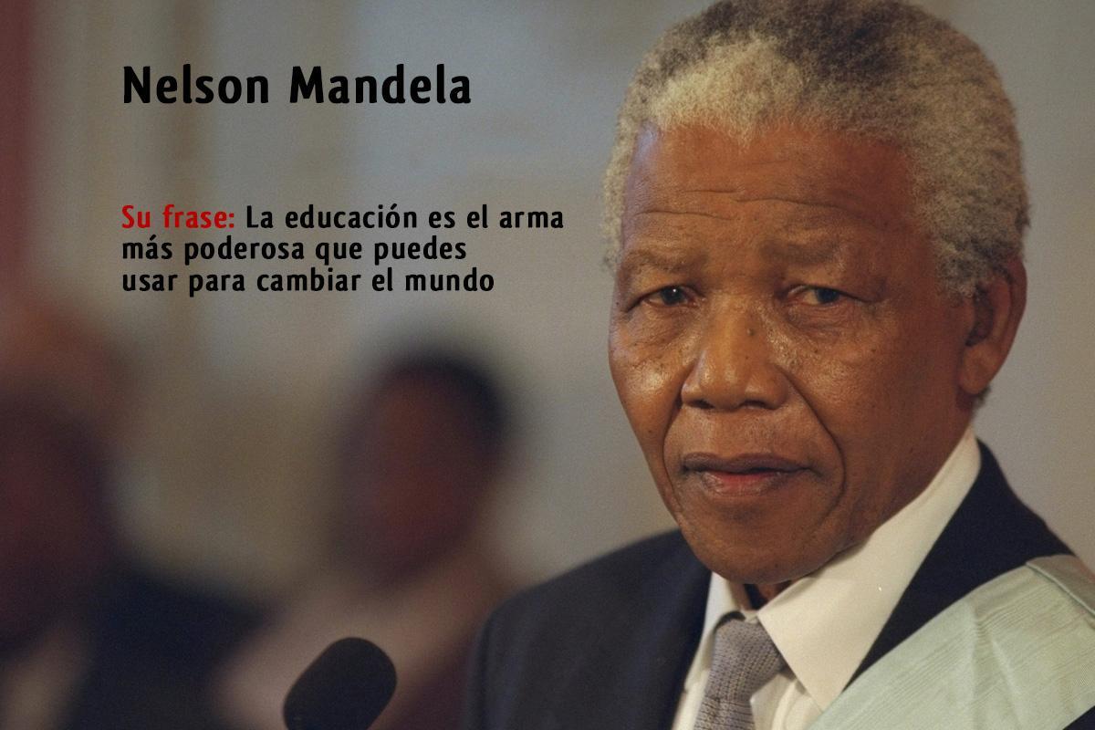 Día Internacional De Nelson Mandela Educación Adventista