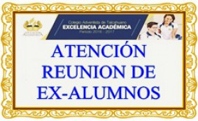 REUNION DE EX-ALUMNOS