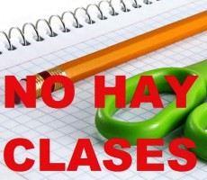 No hay clases
