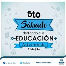 Sábado dedicado a la #EducaciónAdventista